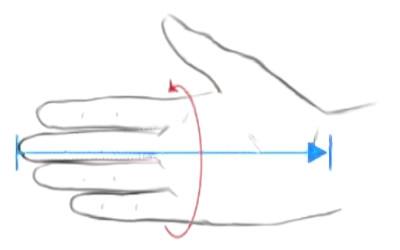 Handschuhgröße richtig messen